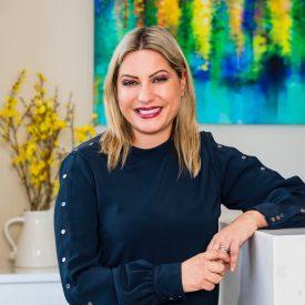 Receptionist Maria Katsaris